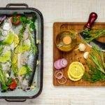 מתכון מעולה לפילה דג ירוקים וקרם עדשים