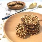 מטבעות שוקולד עם פצפוצי קינואה