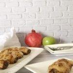 שטרודל תפוחי עץ מדפי אורז